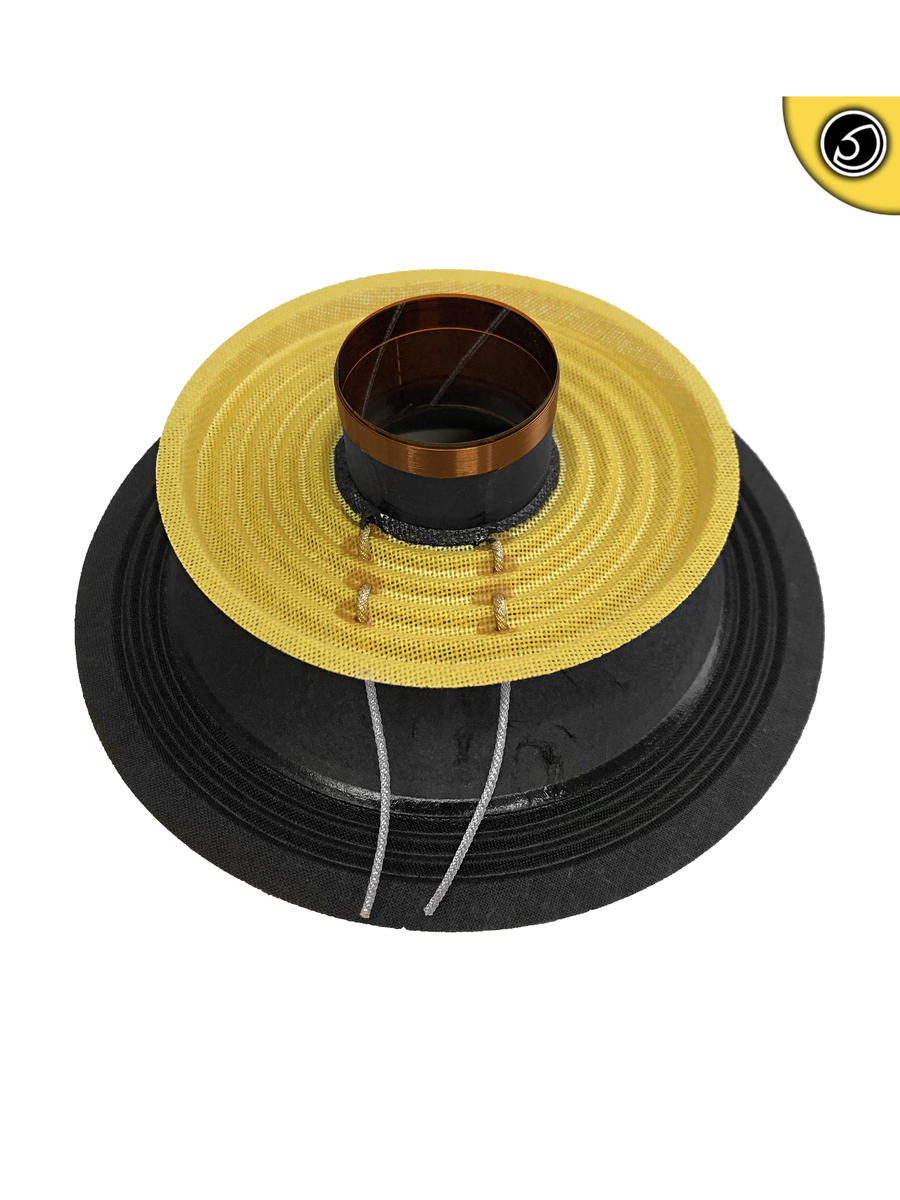 Bassface SPL6M.4 6.5 Inch 17cm Midrange Recone Kit 1x8 Ohm SVC