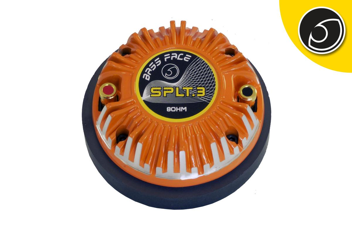 Bassface SPLT.3 400w 8Ohm PA Car Door Dash Horn Compression SPL Tweeter Single