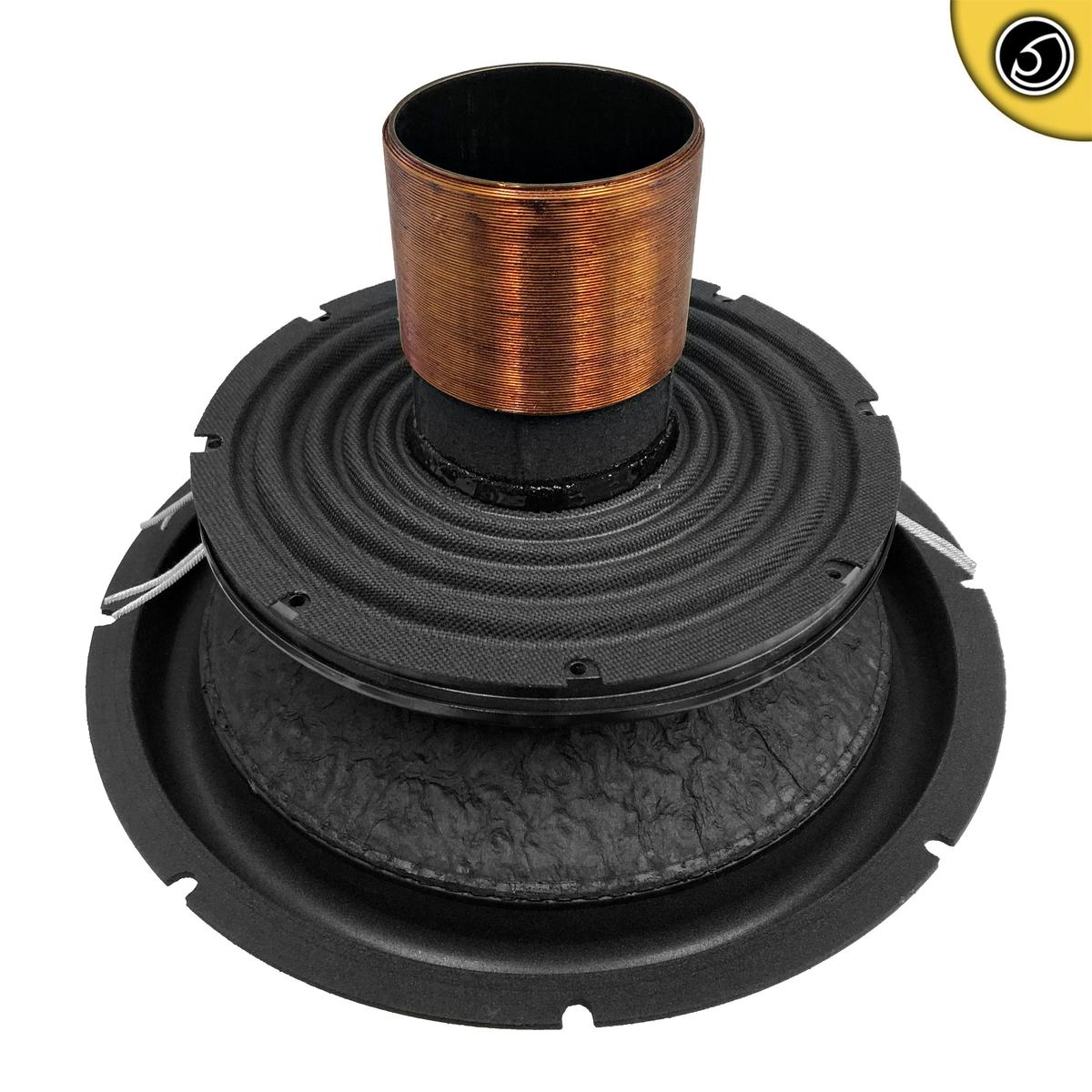 Bassface XPL12.1RC 12 Inch 30cm Car Subwoofer Recone Repair Kit 2x2Ohm DVC