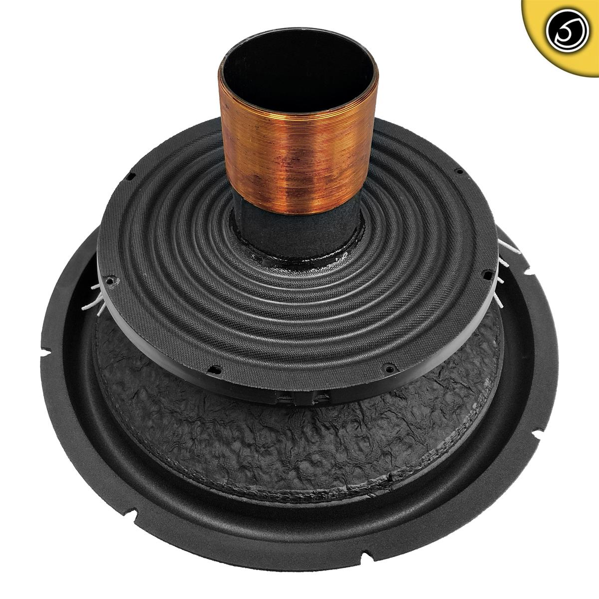 Bassface XPL15.1RC 12 Inch 38cm Car Subwoofer Recone Repair Kit 2x2Ohm DVC