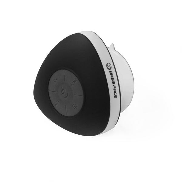 Bassface BTSW.1BLACK Waterproof Shower Bluetooth Speaker Iphone Android iPhone Thumbnail 2