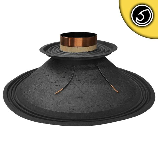 "Bassface PAW18.1 1000w 18"" 46cm 4Ohm Mid Woofer Midbass Driver Recone Kit Single Thumbnail 1"