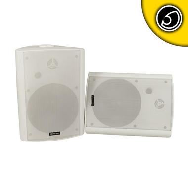 Bassface SPLBOX.3W 600w Marine Boat Patio Outdoor Garden Waterproof Speaker Pair Thumbnail 1