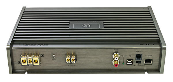 Bassface SQ1.1 990w PC Control Class D Monoblock DSP Car Subwoofer Amplifier SQ Thumbnail 2