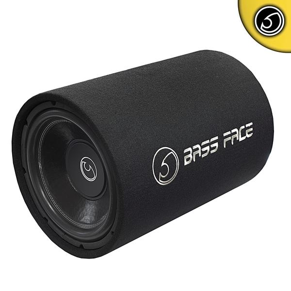 "Bassface BASS12.1 1300w 12"" Inch 30cm Car Subwoofer Bass Box Tube Requires Amp"