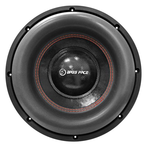 """Bassface BIGRED12.5 12"""" Inch 30cm 3000w RMS Subwoofer 2x1Ohm Extreme SPL SQ Sub Thumbnail 2"""