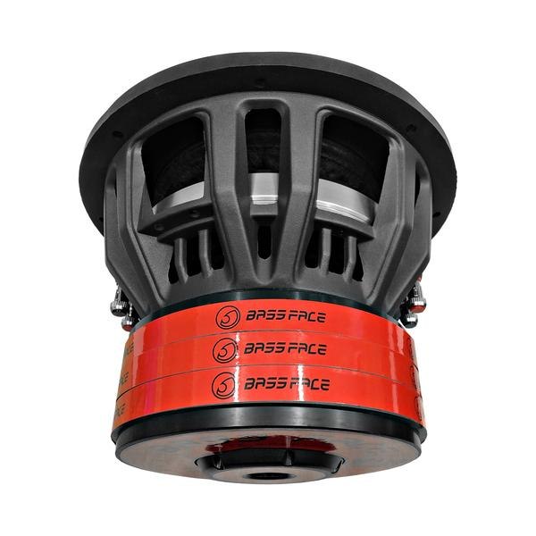 """Bassface BIGRED12.5 12"""" Inch 30cm 3000w RMS Subwoofer 2x1Ohm Extreme SPL SQ Sub Thumbnail 6"""