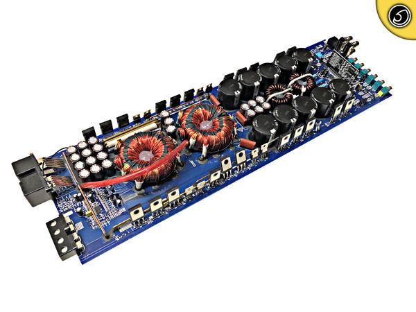 Bassface DB1.4 2730w 1Ohm Class D Monoblock Car Sub Amplifier Bass SPL Amp PCB