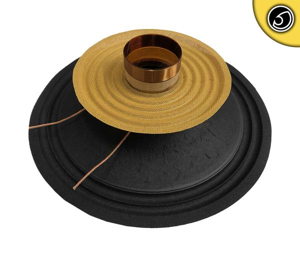 "Bassface PAW8.1 200w 8"" 20cm 4Ohm Mid Woofer Midbass Driver Recone Kit Single Thumbnail 1"