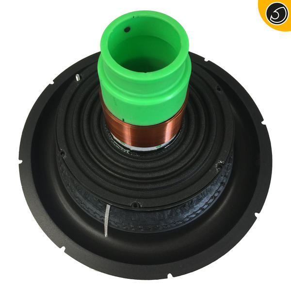 Bassface RED12.4RC 12 Inch 30cm Complete Subwoofer Recone Kit 2x2Ohm DVC Thumbnail 2
