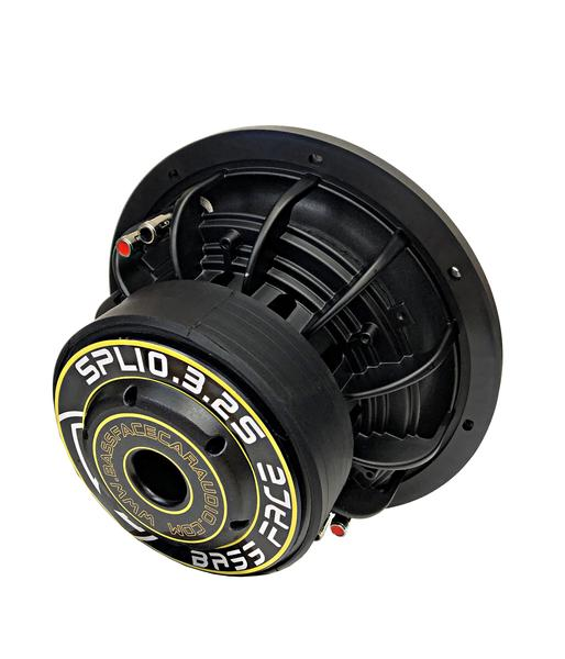 "Bassface SPL10.3S 10"" Inch 25cm 1800w Car Subwoofer 2x2Ohm DVC Sub Woofer SPL SQ Thumbnail 3"