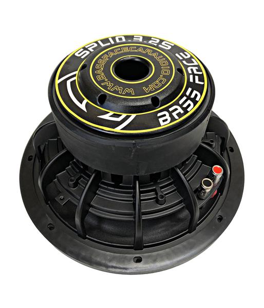 "Bassface SPL10.3S 10"" Inch 25cm 1800w Car Subwoofer 2x2Ohm DVC Sub Woofer SPL SQ Thumbnail 4"