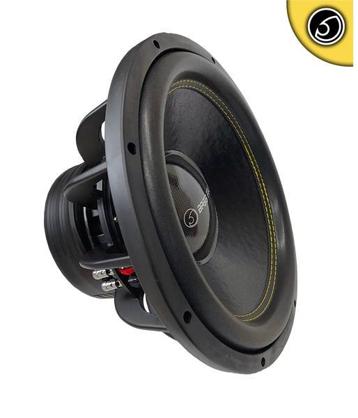 "Bassface SPL15.2S 15"" Inch 38cm 4200w Car Subwoofer 2x4Ohm DVC Sub Woofer SPL SQ Thumbnail 1"