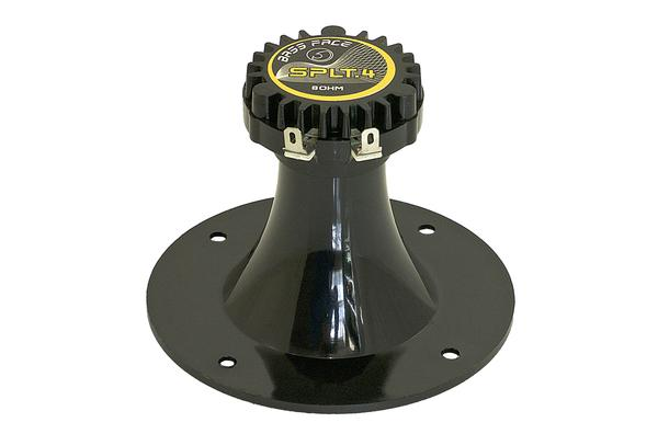 Bassface SPLT.4 150w 8Ohm PA Car Dash Door Mini High Power Horn Tweeter Single Thumbnail 2