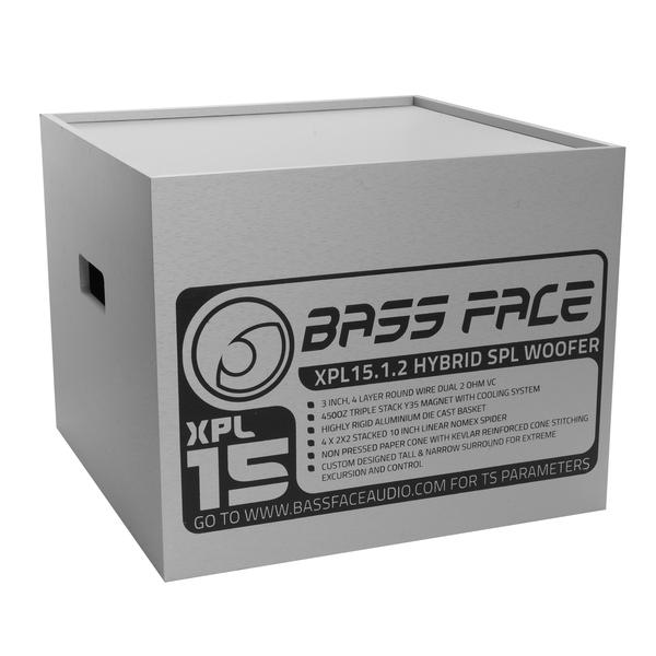 "Bassface XPL15.1 15"" Inch 38cm 7000w Subwoofer 2x2Ohm Extreme SPL SQ Sub Woofer Thumbnail 3"
