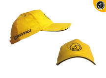 Bassface BFH.1Y Car Audio Baseball Cap in Yellow
