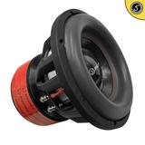 "Bassface BIGRED12.5 12"" Inch 30cm 3000w RMS Subwoofer 2x1Ohm Extreme SPL SQ Sub"