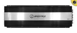 Bassface DB1.7 7500w RMS 1 Ohm Class D Monoblock Subwoofer 12v Power Amplifier