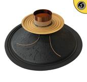 "Bassface PAW15.1 800w 15"" 38cm 8Ohm Mid Woofer Midbass Driver Recone Kit Single"