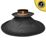 "Bassface PAW18.1 1000w 18"" 46cm 4Ohm Mid Woofer Midbass Driver Recone Kit Single"