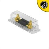 Bassface PFH.2 Stud Terminal Gold Plated Car Audio Fuseholder With 250A ANL Fuse