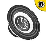 "Bassface SPL10.1 10"" Inch 25cm 1100w Car Subwoofer 4Ohm High Power Sub Woofer"