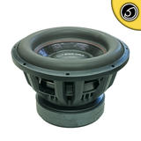 "Bassface BIGRED15.5 15"" Inch 38cm 3000w RMS Subwoofer 2x1Ohm Extreme SPL SQ Sub"