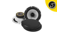 "Bassface SPL6.1 600w 6.5"" Inch 16.5cm Coaxial 2Way Car Door Shelf Speakers Pair"