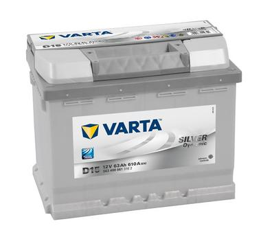 Varta D15 Heavy Duty 12 Volt 027 63Ah 610CCA 5 Year Audi Ford Vaux BMW VW Volvo Car Battery