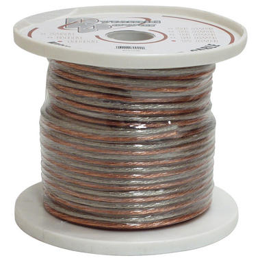 Pyramid RSW16100 16 Gauge 100 ft. Spool of High Quality Speaker Zip Wire Thumbnail 2