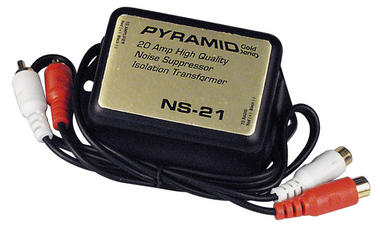 Pyramid NS21 20 Amp In-Line Noise Suppressor Ground Loop Isolator Destroyer Thumbnail 2