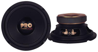 "Pyramid W64 6.5"" 200w 4Ohm Car Speaker Midwoofer Paper Midbass Mid Bass Driver Thumbnail 2"