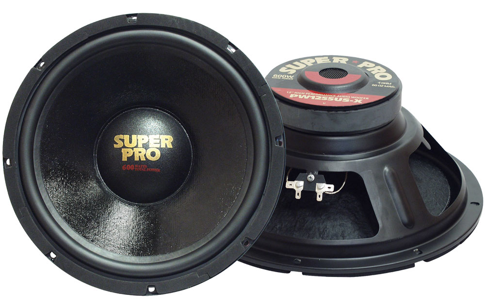 "Pyramid Pro 8 Ohm 10"" 500w Car Audio Subwoofer Driver Sub Bass Speaker Woofer"