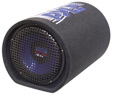 Pyle PLTB8 8'' 400 Watt Carpeted Subwoofer Tube Enclosure System Thumbnail 2