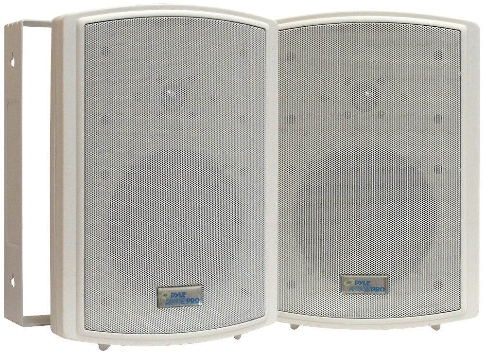 "Pyle PDWR63 6.5"" Indoor Outdoor WaterProof Marine Patio Box Speakers"