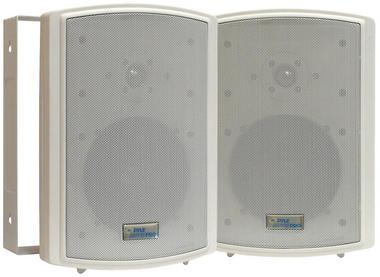 "Pyle PDWR63 6.5"" Indoor Outdoor WaterProof Marine Patio Box Speakers Thumbnail 2"