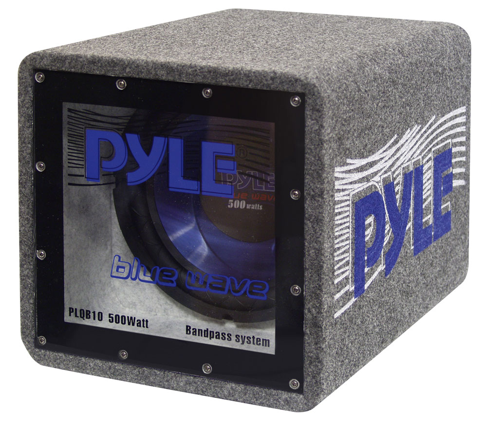 Pyle PLQB10 10'' 500 Watt Bandpass Enclosure System