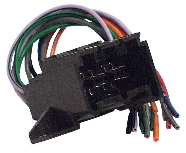 Headunit ISO Audio Wiring Loom 4 Speaker Mazda1989 Onwards Adaptor
