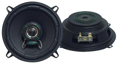 Lanzar VX50S VX 5.25'' Two-Way Slim Shallow Mount Speakers Car Door Shelf Thumbnail 2