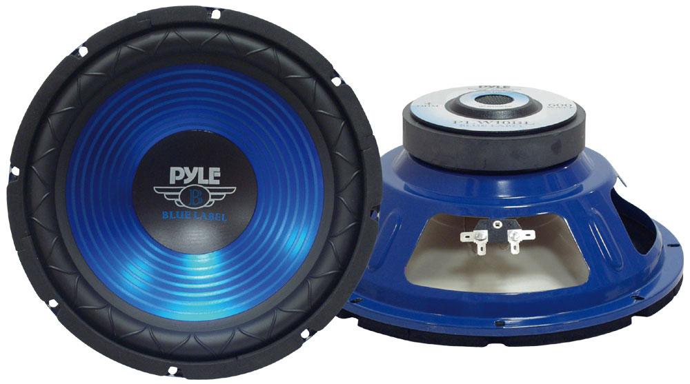 Pyle PLW12BL 12'' 800w Car Sub Bass Box SPL SQ Subwoofer Woofer Driver