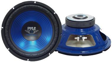 Pyle PLW10BL 10'' 600w Car Van Sub Bass Box SPL Subwoofer Sub Driver Thumbnail 2