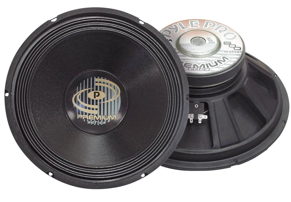 Pyle Pro DJ PPA15 800w 8 Ohm Professional PA 15'' Inch Sub Woofer Bass Speaker