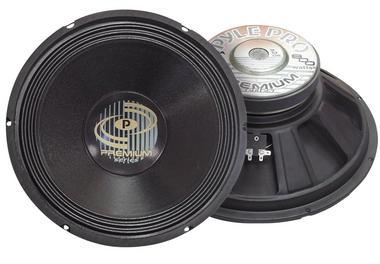Pyle Pro DJ PPA15 800w 8 Ohm Professional PA 15'' Inch Sub Woofer Bass Speaker Thumbnail 2