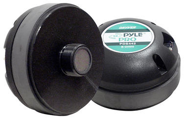 Pyle PDS442 Titanium Horn Screw On Type Compression Driver Tweeter 8 Ohm 500w Thumbnail 2