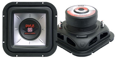 """Pyle Square 10"""" Inch 1000w Car Audio Subwoofer Driver Sub Bass Speaker Woofer Thumbnail 2"""