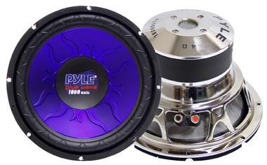 "Pyle PL1090BL 10"" Inch 1000w Car Audio Subwoofer Driver Sub Bass Speaker Woofer Thumbnail 2"