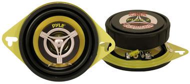 Pyle PLG3.2 3.5 inch 8cm 120W Two Way Pair Car Door Dash Shelf Speakers Thumbnail 2