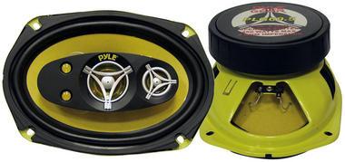 Pyle PLG69.5 6'' x 9'' 450w Five-Way Coaxial Full Range Car Door Shelf Speakers Thumbnail 2