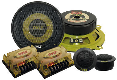 "Pyle Gear 5.25"" 800w 2-Way Pair Custom Car Component Speaker System Set Kit Thumbnail 2"