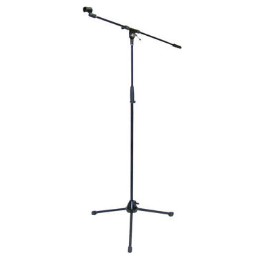 Pyle-Pro PMKS2 Tripod Microphone Mic Stand With Boom Heavy Duty Adjustable Thumbnail 2